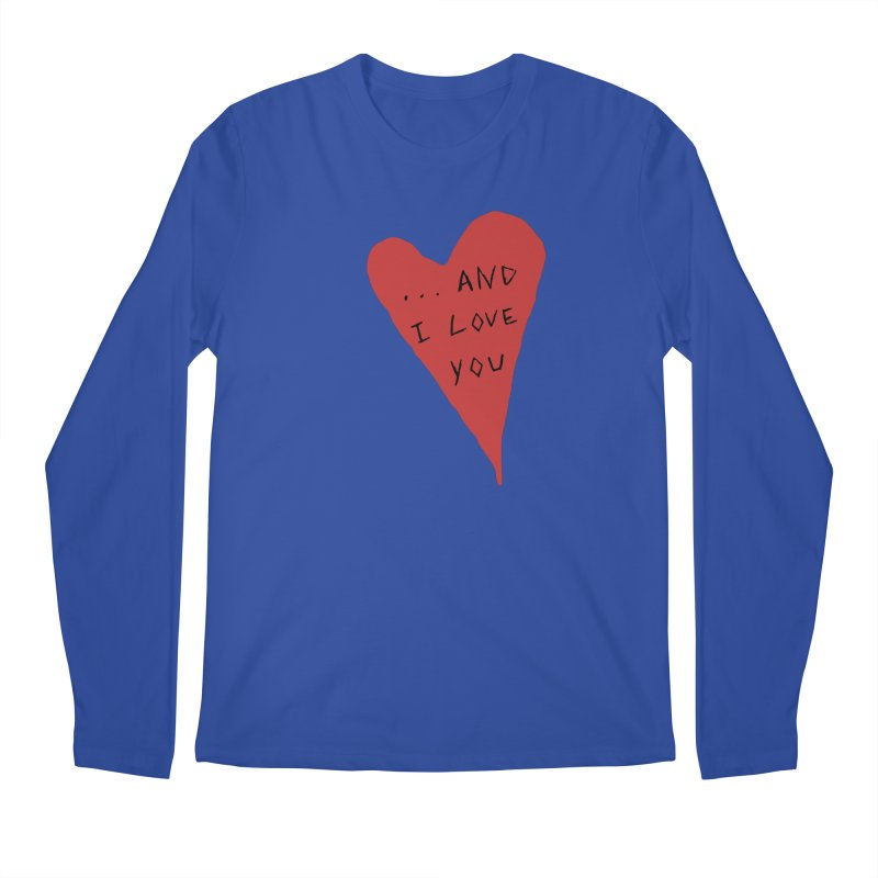 Lucy's Heart - And I Love You Men's Regular Longsleeve T-Shirt by The Little Fears