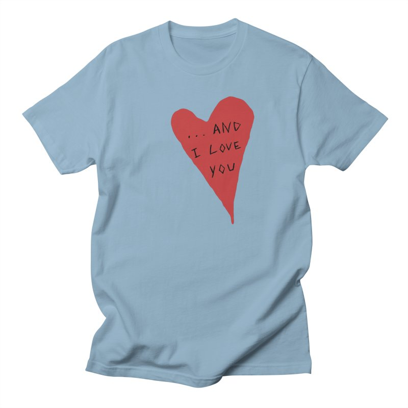 Lucy's Heart - And I Love You Men's Regular T-Shirt by The Little Fears