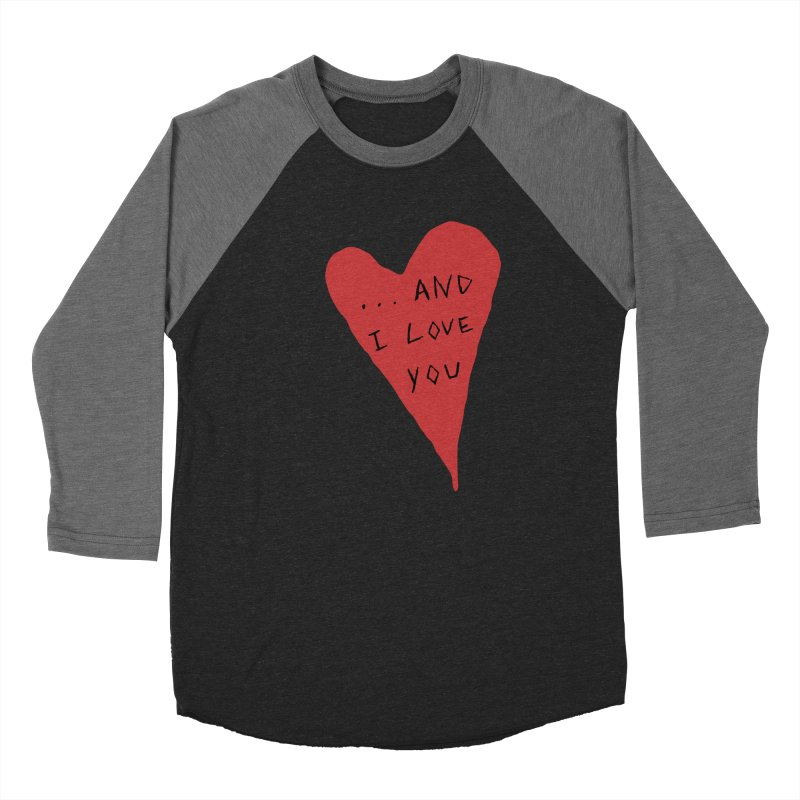Lucy's Heart - And I Love You Women's Baseball Triblend Longsleeve T-Shirt by The Little Fears