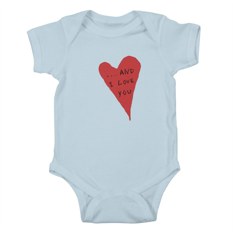 Lucy's Heart - And I Love You Kids Baby Bodysuit by The Little Fears