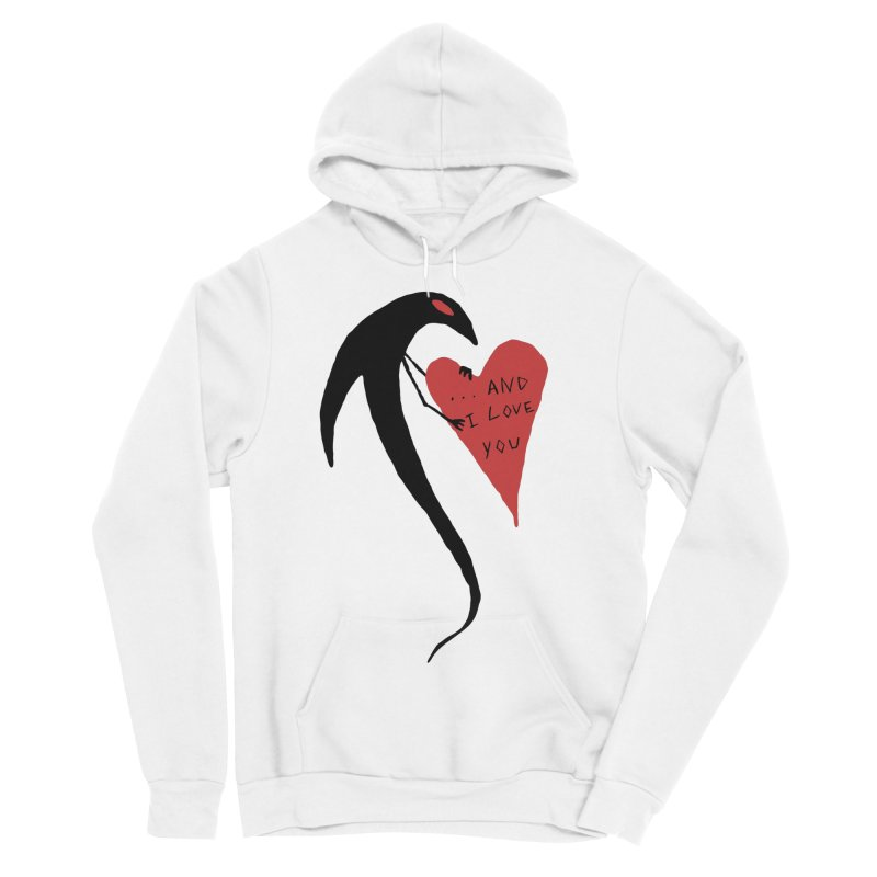 Lucy's Heart 2 - And I love you Women's Sponge Fleece Pullover Hoody by The Little Fears