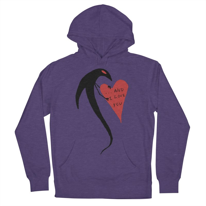 Lucy's Heart 2 - And I love you Men's French Terry Pullover Hoody by The Little Fears