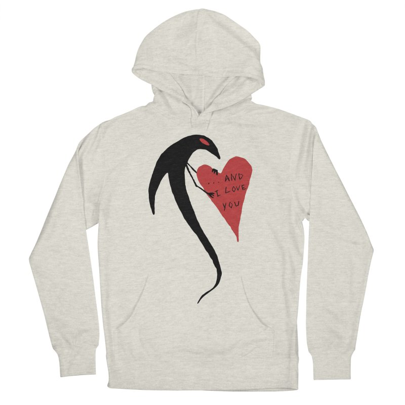 Lucy's Heart 2 - And I love you Men's Pullover Hoody by The Little Fears
