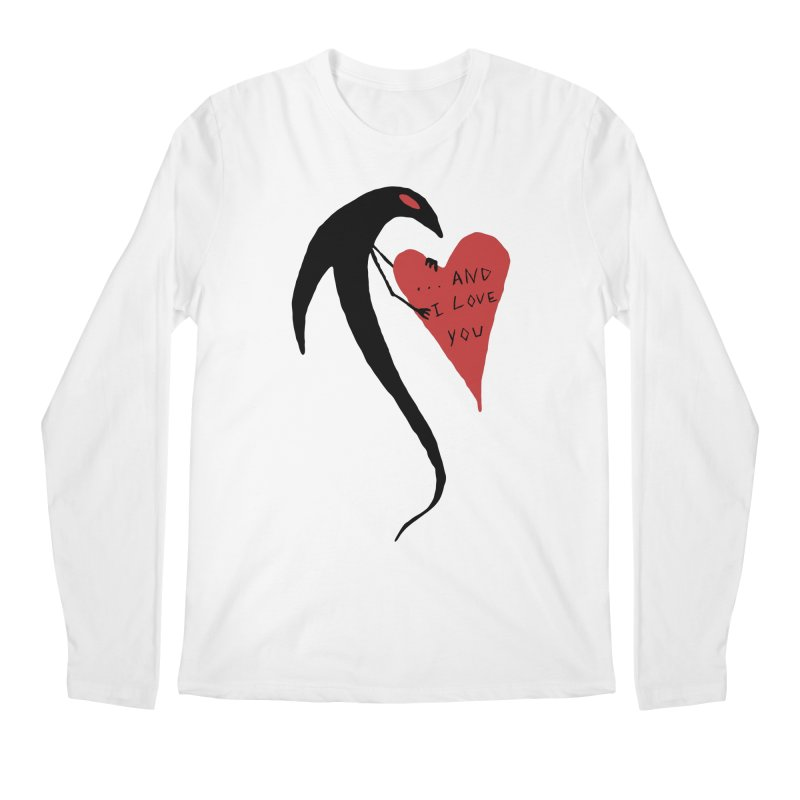 Lucy's Heart 2 - And I love you Men's Regular Longsleeve T-Shirt by The Little Fears