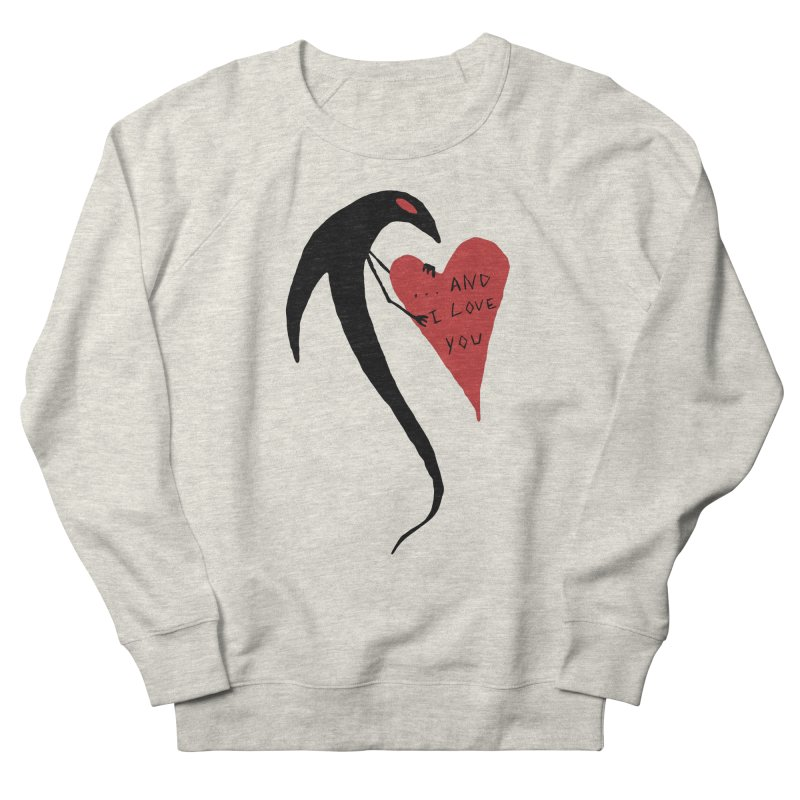Lucy's Heart 2 - And I love you Women's French Terry Sweatshirt by The Little Fears