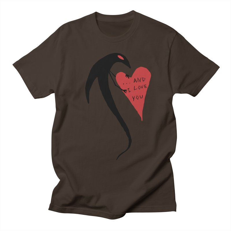 Lucy's Heart 2 - And I love you Men's Regular T-Shirt by The Little Fears