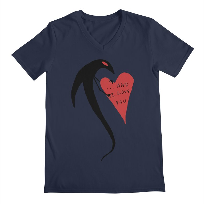 Lucy's Heart 2 - And I love you Men's Regular V-Neck by The Little Fears