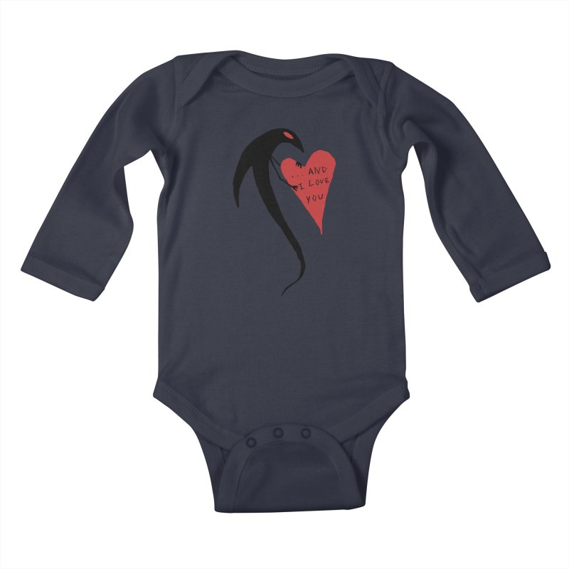 Lucy's Heart 2 - And I love you Kids Baby Longsleeve Bodysuit by The Little Fears