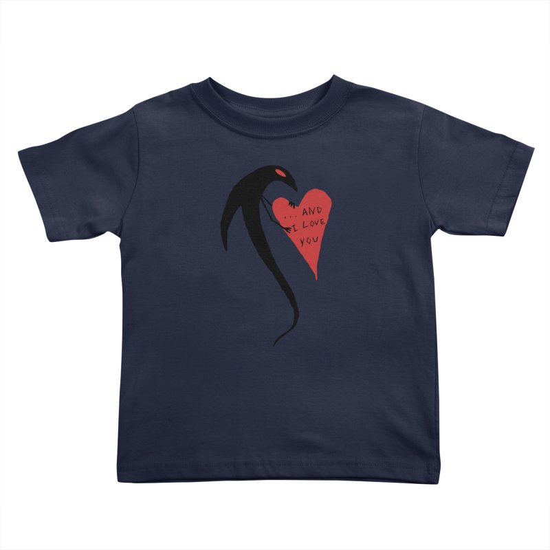 Lucy's Heart 2 - And I love you Kids Toddler T-Shirt by The Little Fears