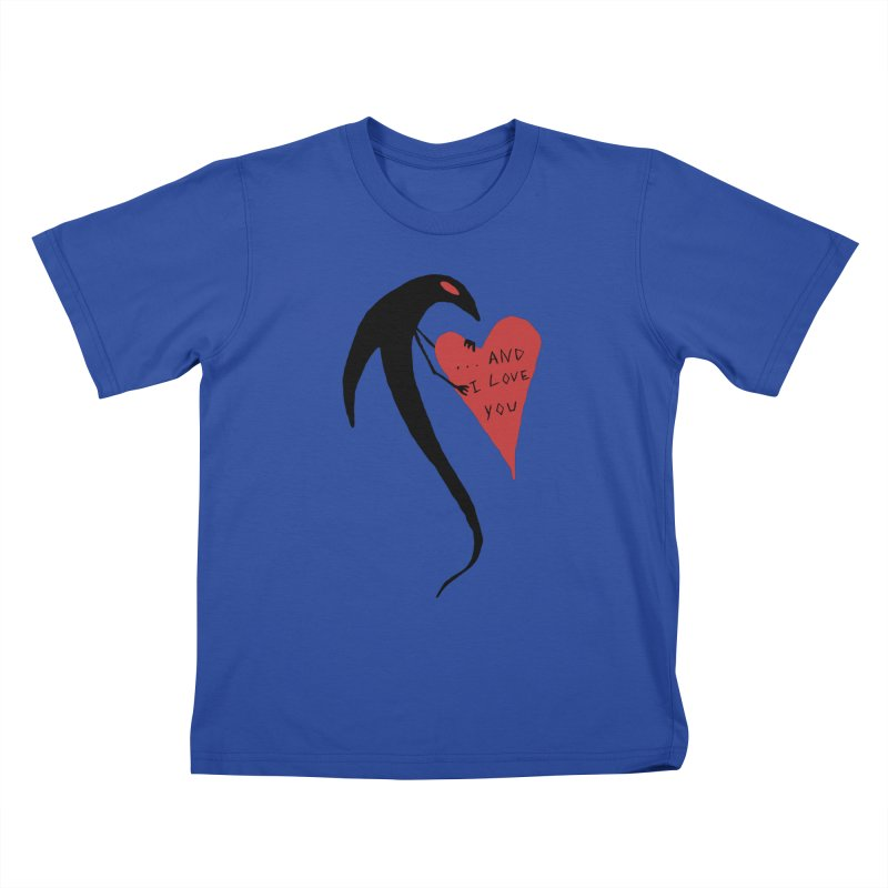 Lucy's Heart 2 - And I love you Kids T-Shirt by The Little Fears