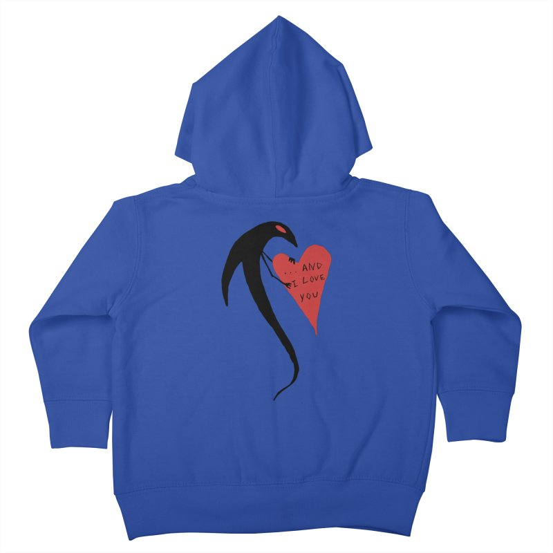 Lucy's Heart 2 - And I love you Kids Toddler Zip-Up Hoody by The Little Fears