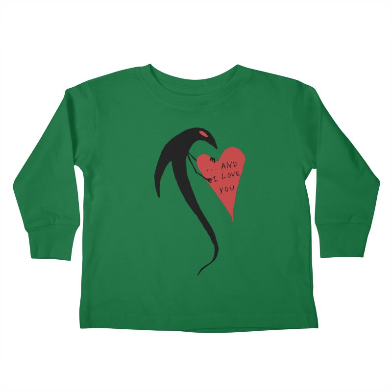 Lucy's Heart 2 - And I love you Kids Toddler Longsleeve T-Shirt by The Little Fears