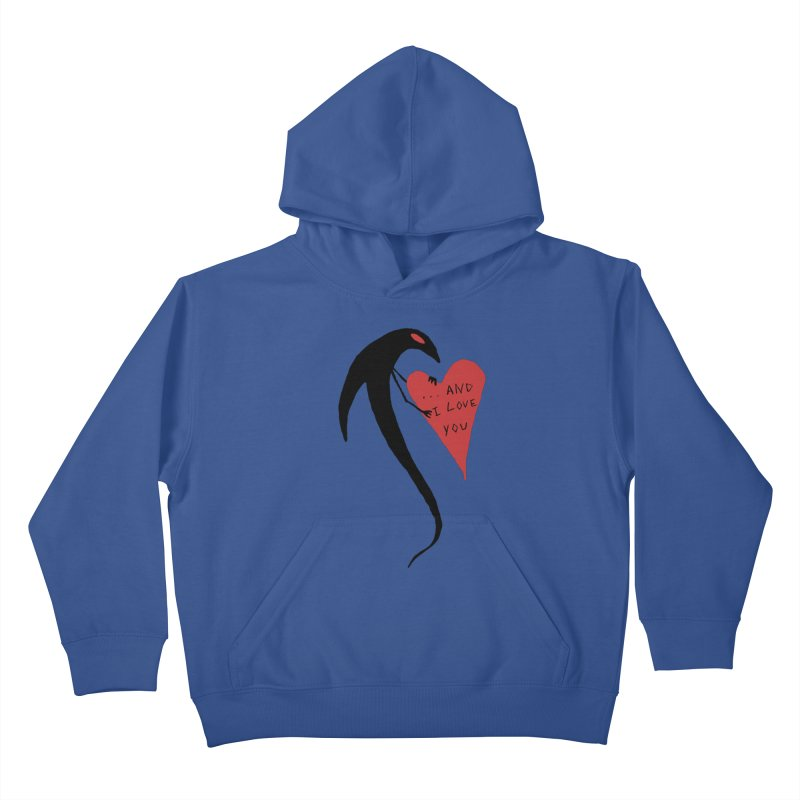 Lucy's Heart 2 - And I love you Kids Pullover Hoody by The Little Fears
