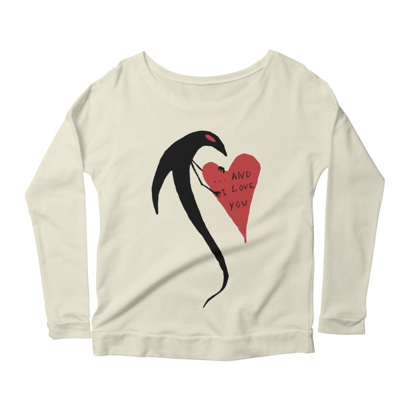 Lucy's Heart 2 - And I love you Women's Scoop Neck Longsleeve T-Shirt by The Little Fears