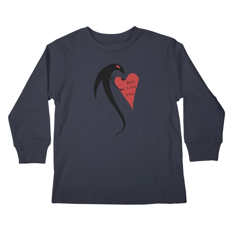 Lucy's Heart 2 - And I love you Kids Longsleeve T-Shirt by The Little Fears