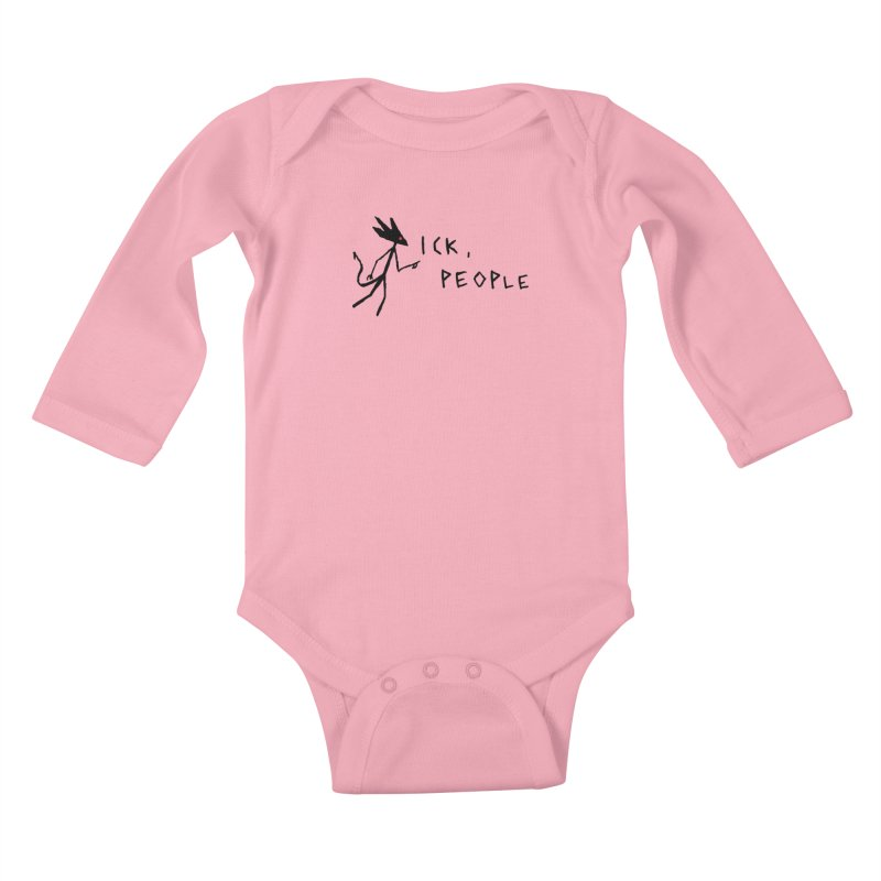 Ick people Kids Baby Longsleeve Bodysuit by The Little Fears
