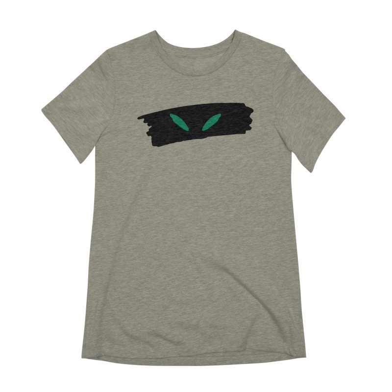 Cats Eyes Women's Extra Soft T-Shirt by The Little Fears