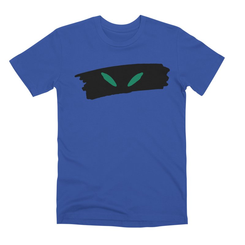 Cats Eyes Men's Premium T-Shirt by The Little Fears