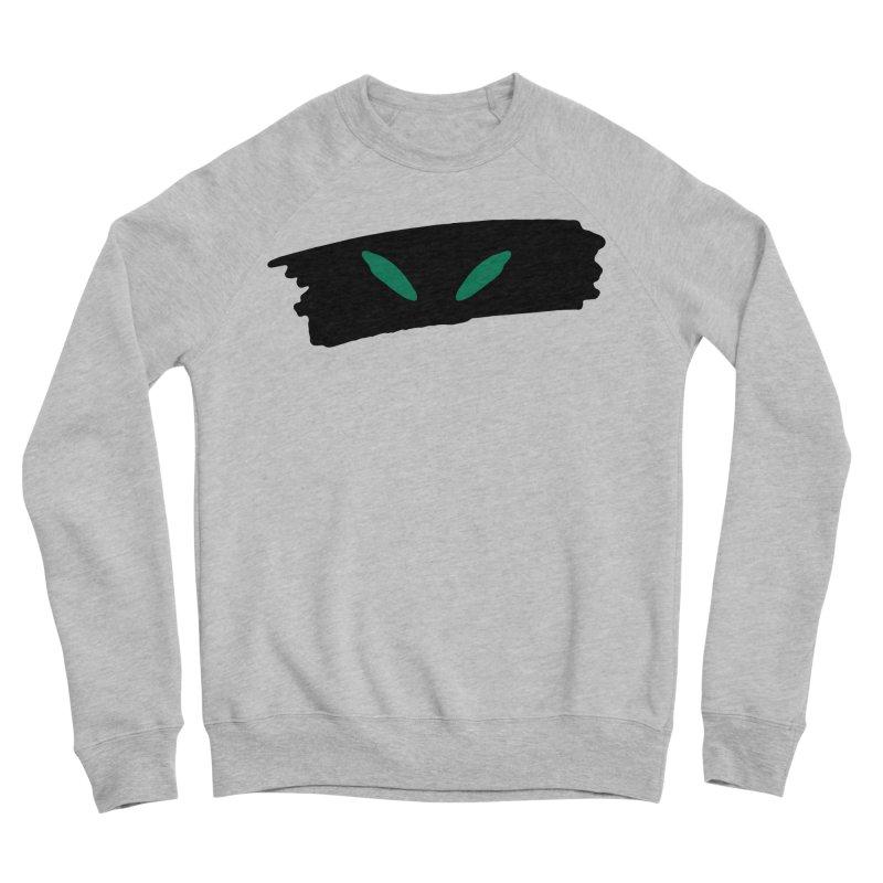Cats Eyes Women's Sponge Fleece Sweatshirt by The Little Fears