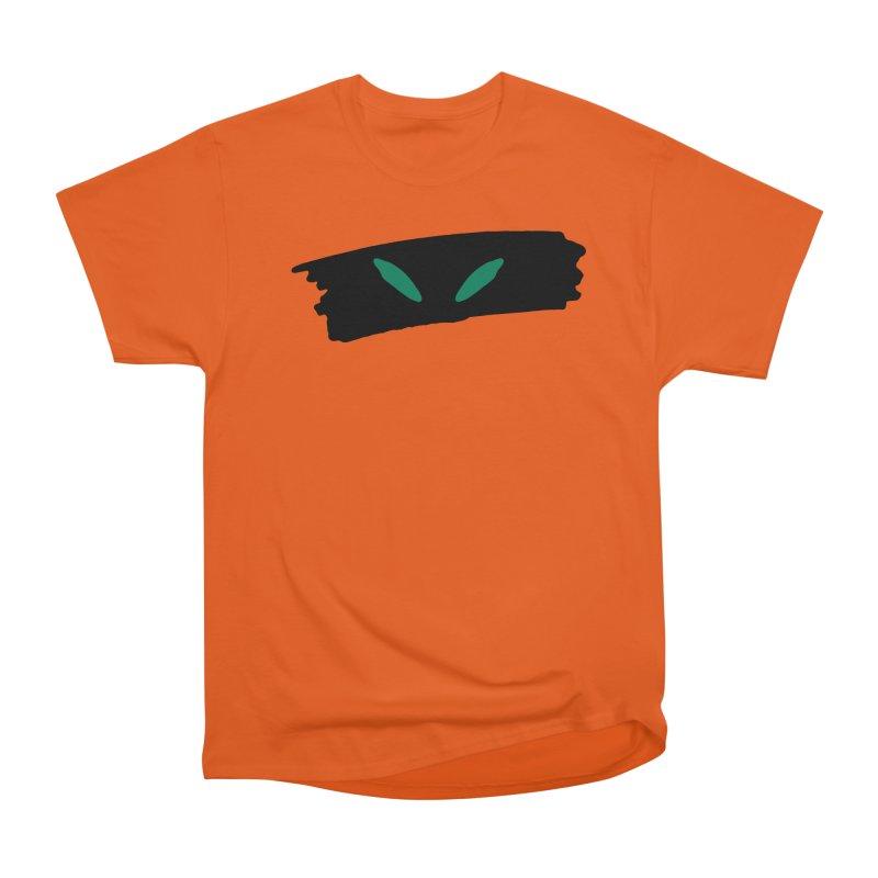 Cats Eyes Men's Heavyweight T-Shirt by The Little Fears