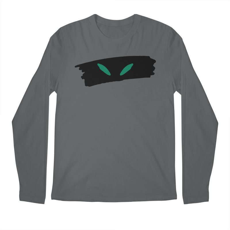 Cats Eyes Men's Regular Longsleeve T-Shirt by The Little Fears