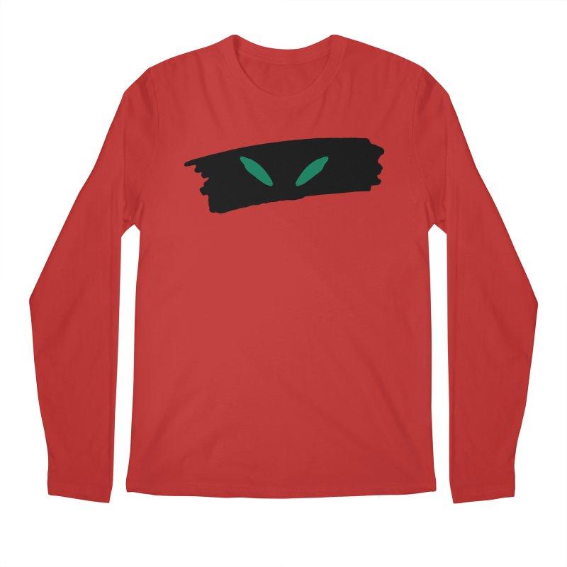 Cats Eyes Men's Regular Longsleeve T-Shirt by The Little Fears