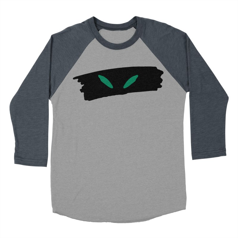 Cats Eyes Men's Baseball Triblend Longsleeve T-Shirt by The Little Fears