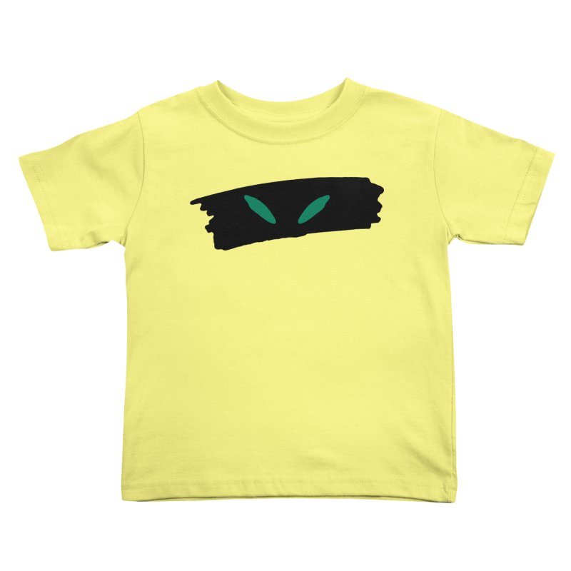 Cats Eyes Kids Toddler T-Shirt by The Little Fears