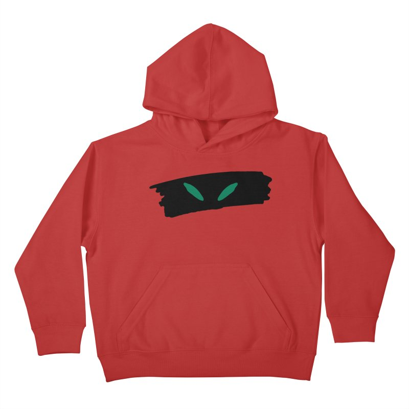 Cats Eyes Kids Pullover Hoody by The Little Fears