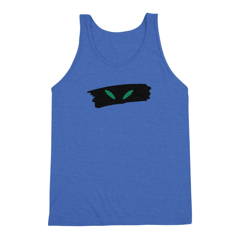 Cats Eyes Men's Triblend Tank by The Little Fears