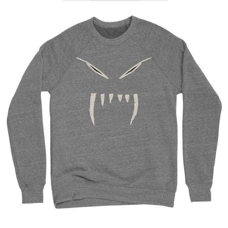 Growl Men's Sponge Fleece Sweatshirt by The Little Fears