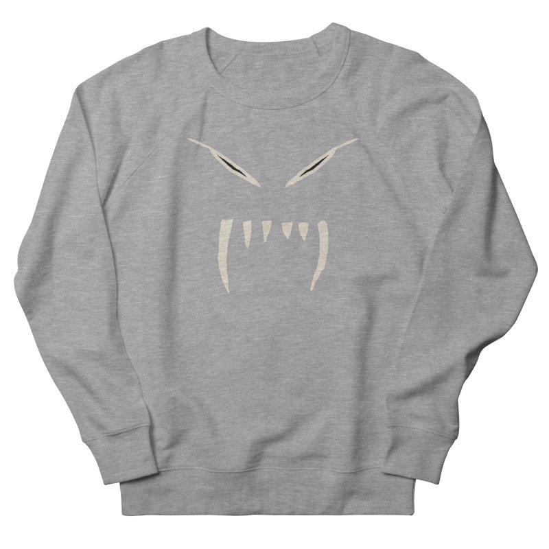 Growl Men's French Terry Sweatshirt by The Little Fears