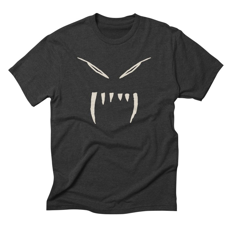 Growl Men's Triblend T-Shirt by The Little Fears