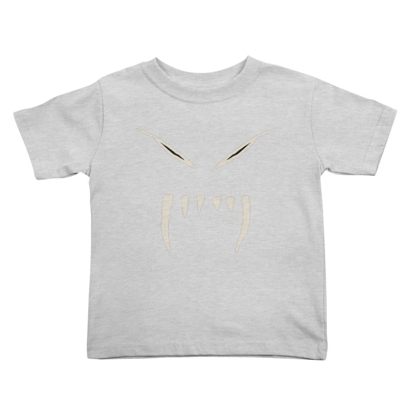 Growl Kids Toddler T-Shirt by The Little Fears