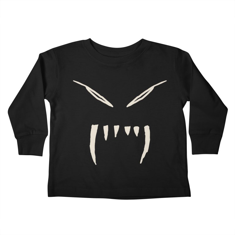 Growl Kids Toddler Longsleeve T-Shirt by The Little Fears