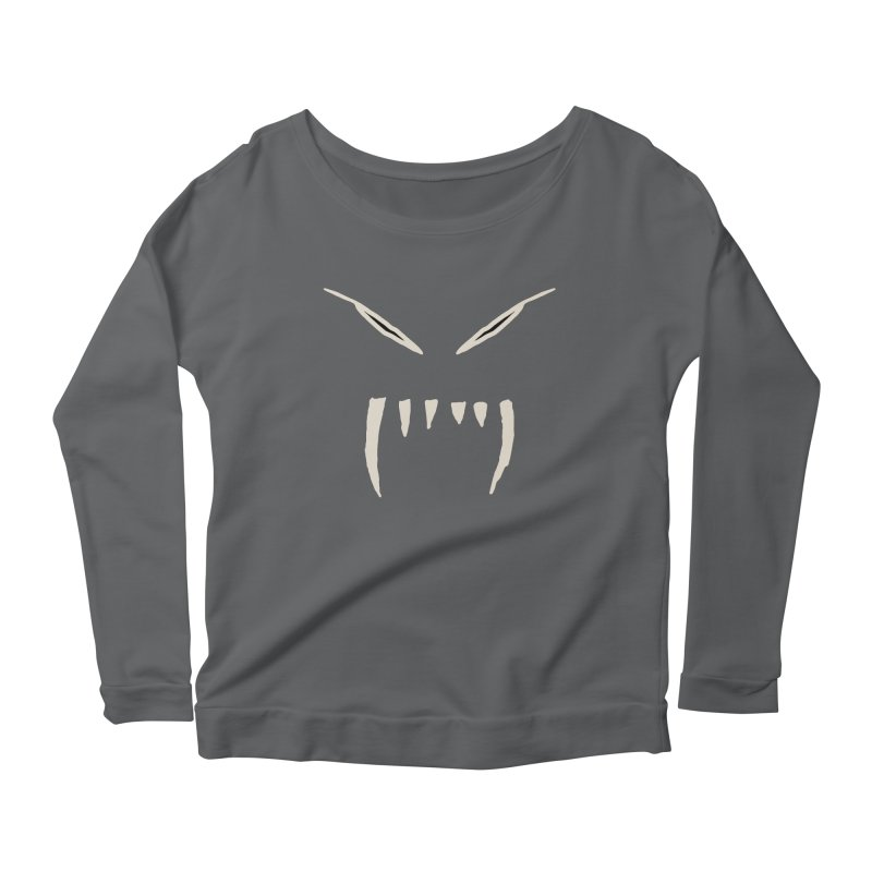 Growl Women's Scoop Neck Longsleeve T-Shirt by The Little Fears