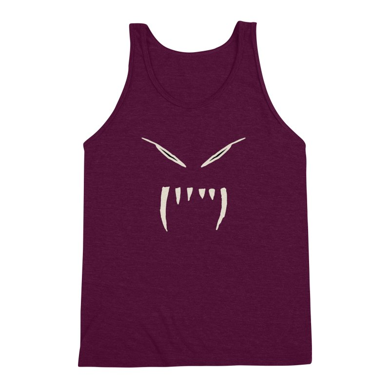 Growl Men's Triblend Tank by The Little Fears