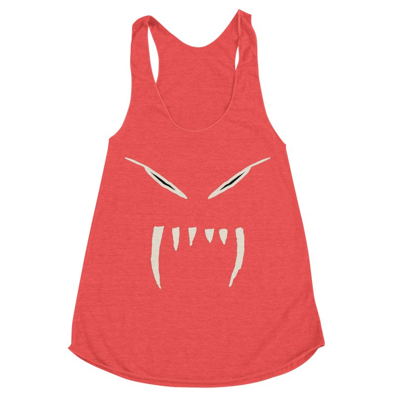 Growl Women's Racerback Triblend Tank by The Little Fears