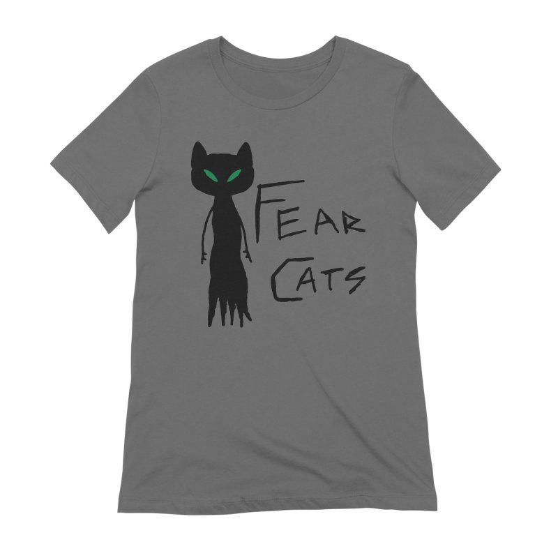 Fear Cats Women's T-Shirt by The Little Fears
