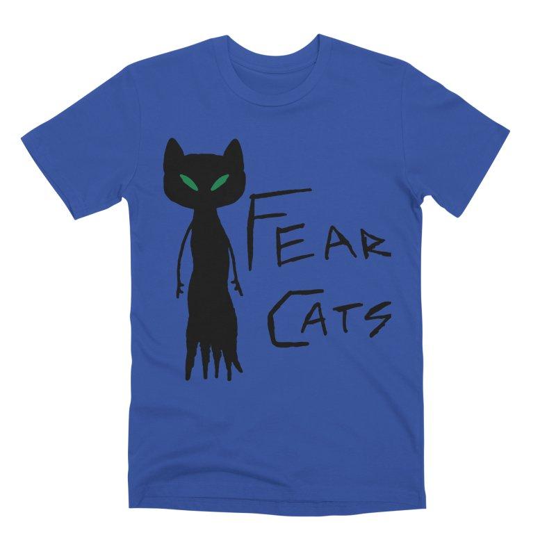 Fear Cats Men's Premium T-Shirt by The Little Fears