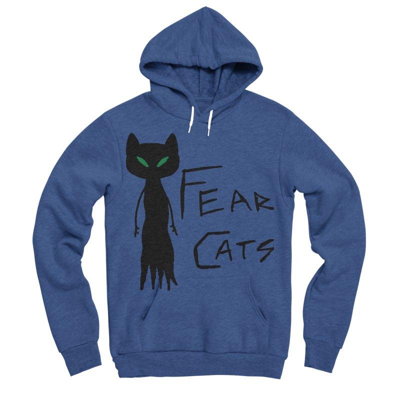 Fear Cats Women's Sponge Fleece Pullover Hoody by The Little Fears