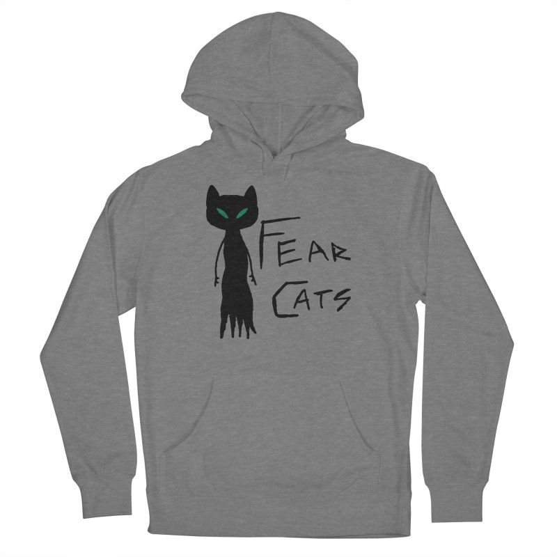 Fear Cats Women's Pullover Hoody by The Little Fears