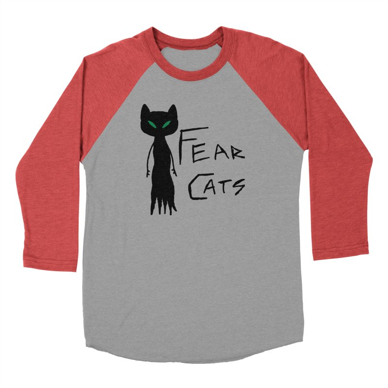 Fear Cats Men's Longsleeve T-Shirt by The Little Fears