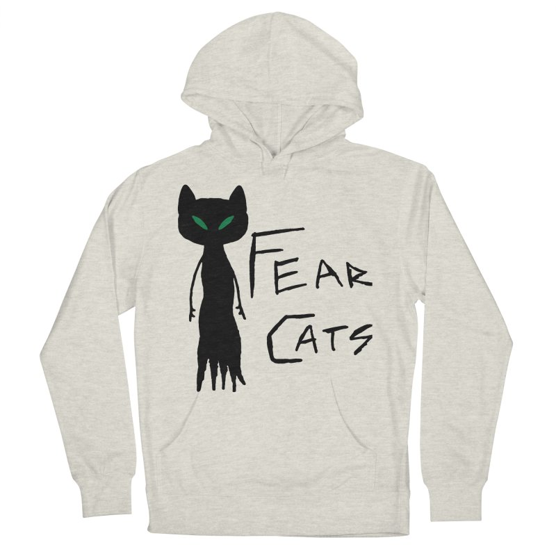Fear Cats Men's Pullover Hoody by The Little Fears