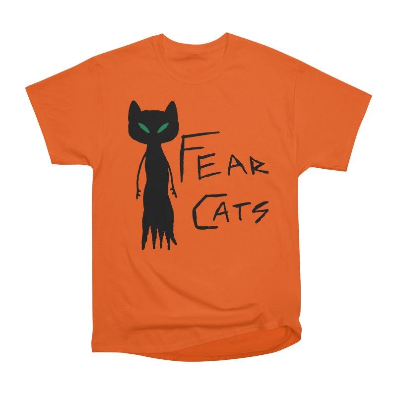 Fear Cats Women's T-Shirt by The Little Fears