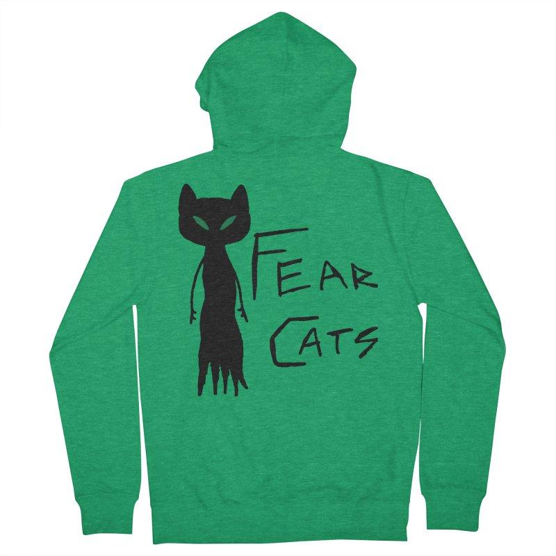Fear Cats Women's Zip-Up Hoody by The Little Fears