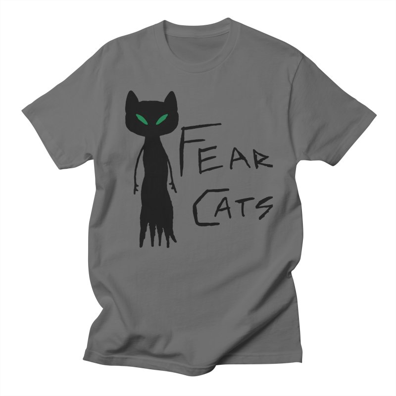 Fear Cats Men's T-Shirt by The Little Fears