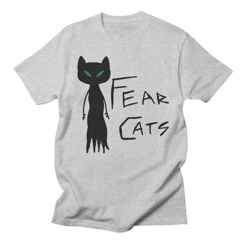 Fear Cats Men's T-Shirt by The Little Fears