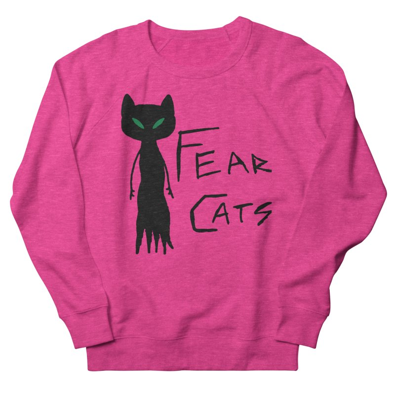 Fear Cats Women's Sweatshirt by The Little Fears