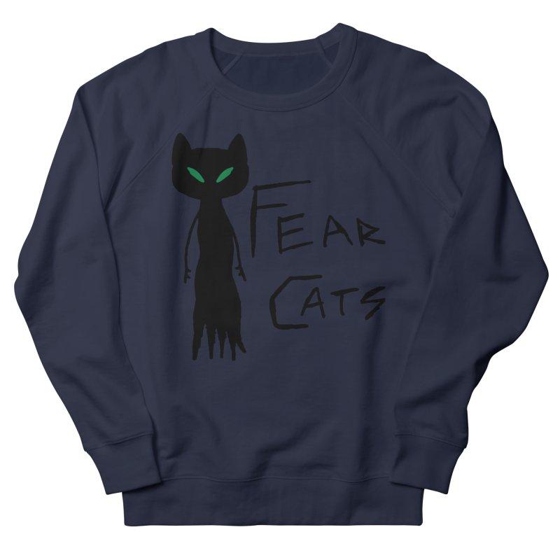 Fear Cats Women's Sweatshirt by The Little Fears